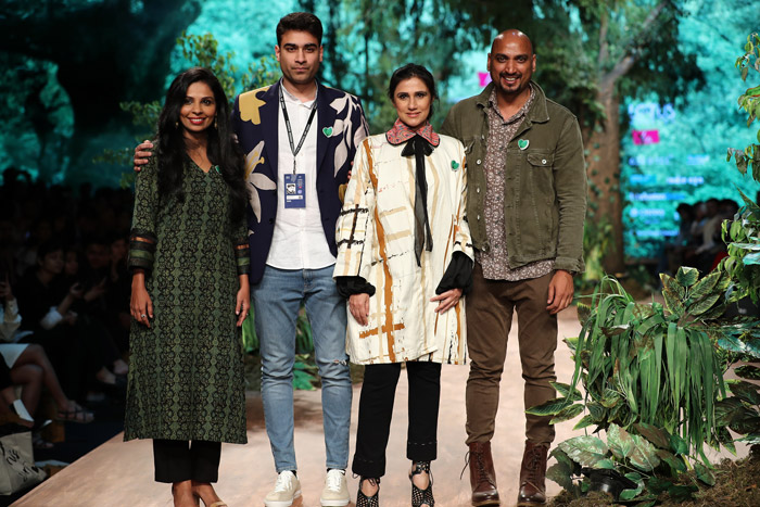 Liva goes green with Livaeco show at Lotus Makeup India Fashion Week