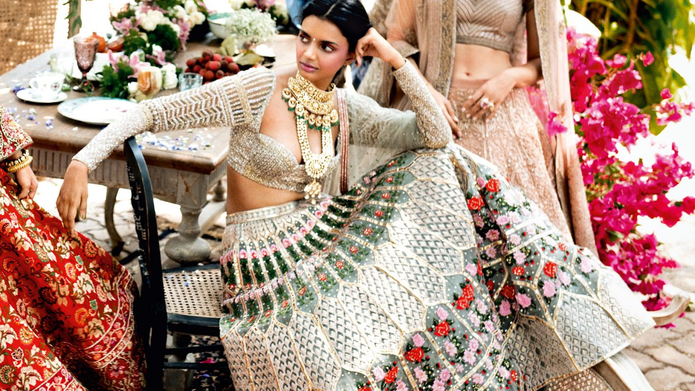 10 places you can head to for customised designer lehengas