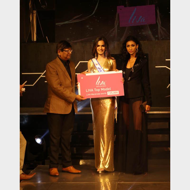 LIVA Top Model Sub Contest at the LIVA #MissDiva2020 Delhi preliminary event