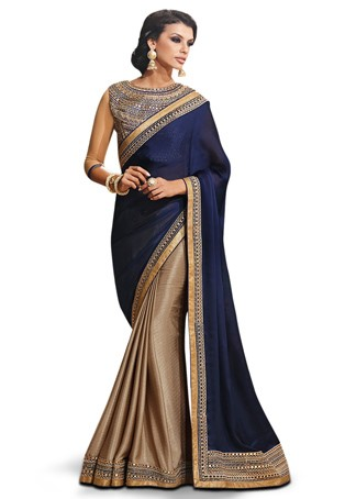 Elegant & Easy To Wear LIVA Sarees That Festoon Your Office Look