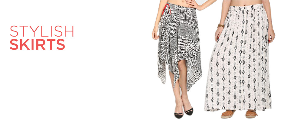 Stylish Skirts &     Maxi Skirts