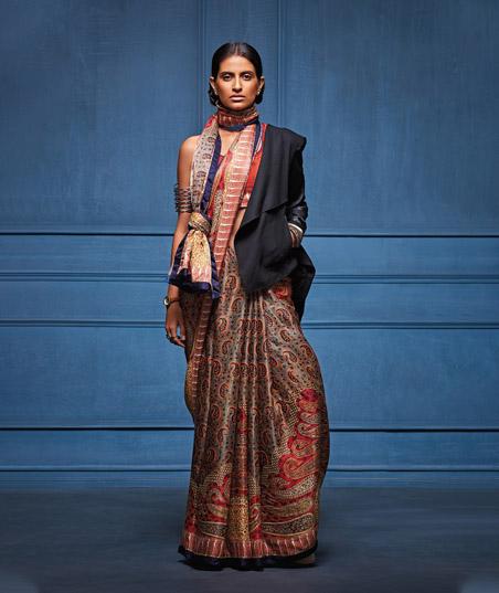 5 Designer Sarees For Every Type of Girl This Wedding Season