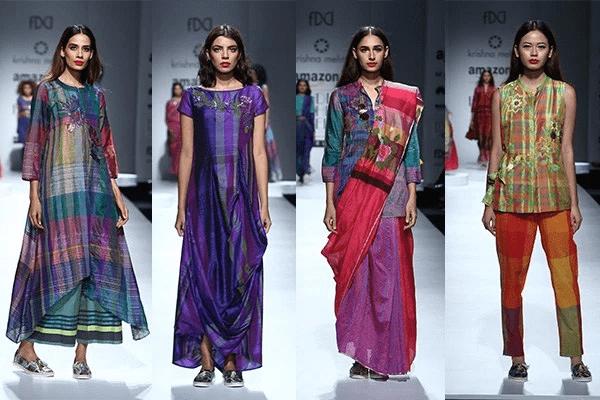 Krishna Mehta Collection At India Fashion Week Spring Summer 2017