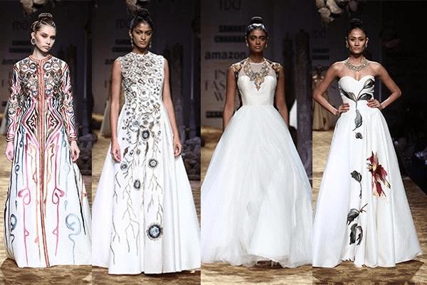 Samant Chauhan Collection At India Fashion Week Spring Summer 2017