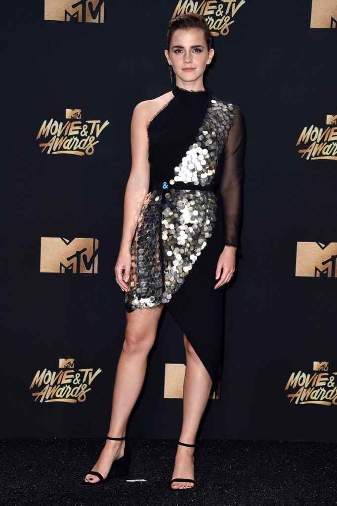 Emma Watson Sparkling In Sequins