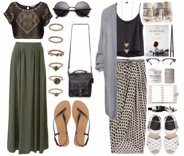 LIVA-Fashion-Maxi-Skirts-Styles-Boho-Chic-Look